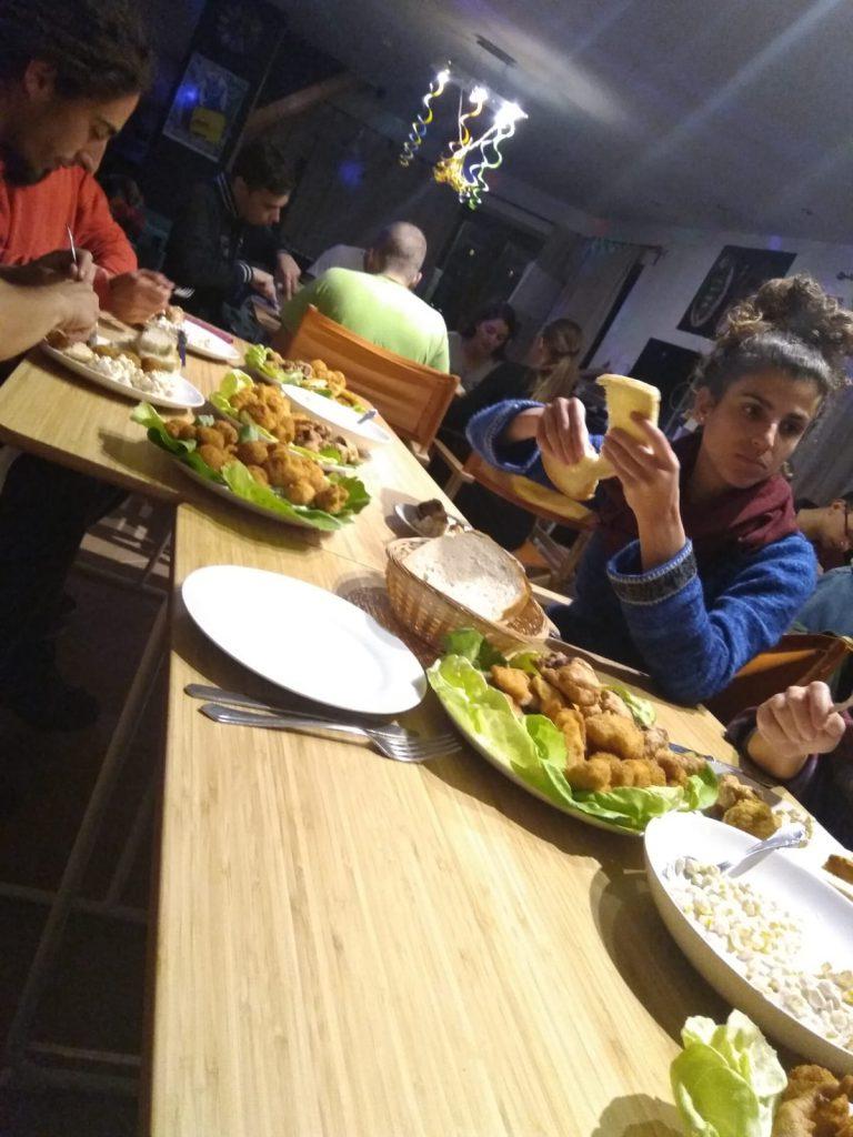 Das Essen war ach sehr lecker!