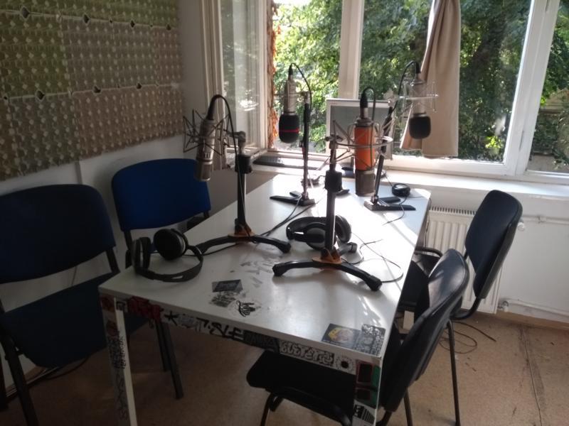 provisorisches Studio