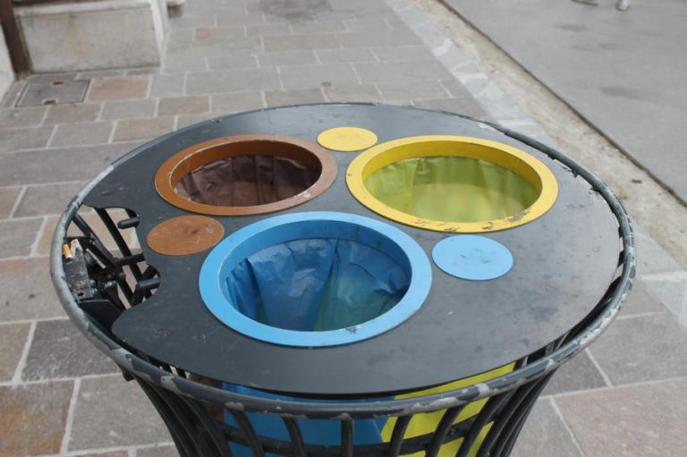 in Slowenien gibt es krasse Mülltrennung